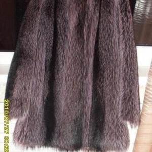 Продается дизайнерская полу-шуба из американского енота.