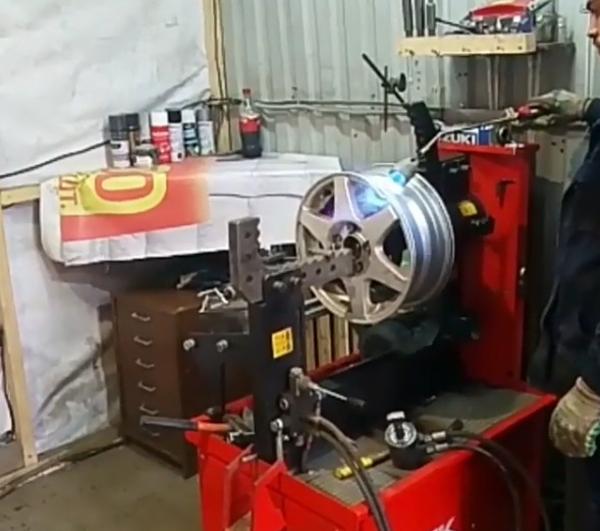Правка литых и стальных дисков 2