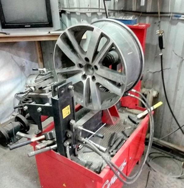 Правка литых и стальных дисков 5